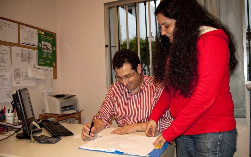 José Antonio Fernández, voluntario del Departamento Jurídico