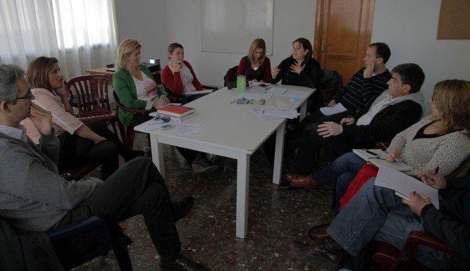 Trabajo en equipo en el Centro de Inserción Social