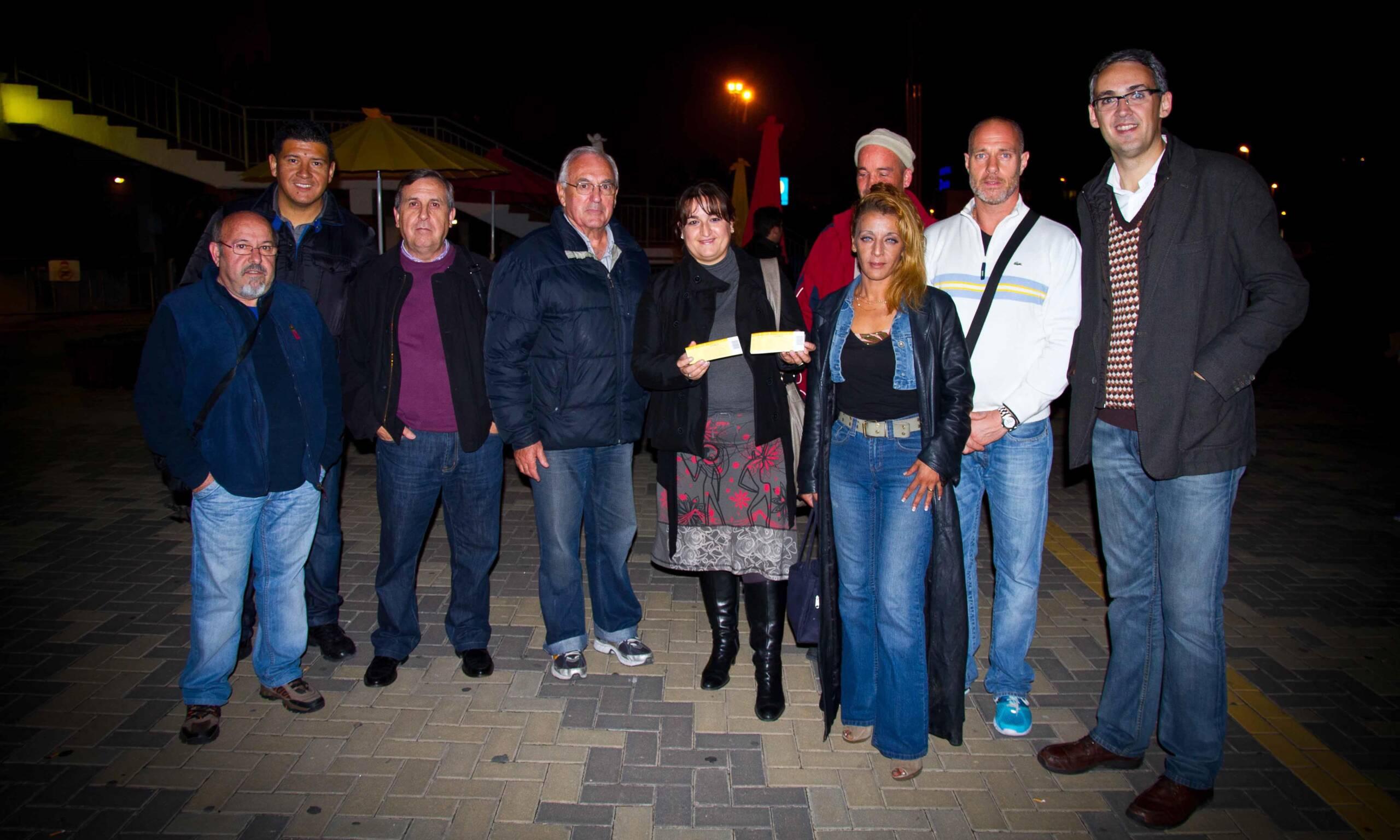 Residentes del CIS acuden al Circo del Sol junto a Málaga Acoge