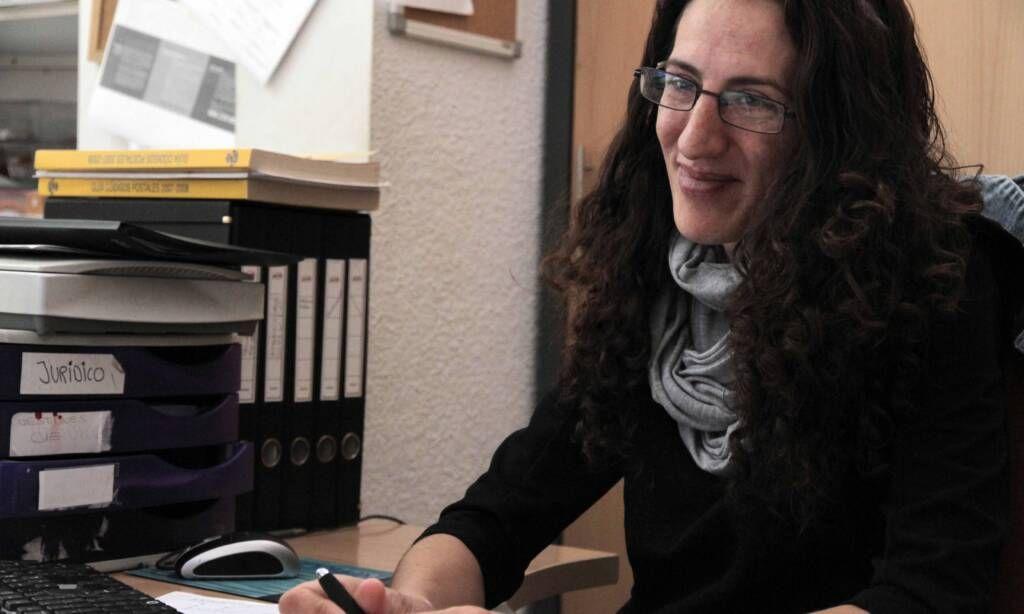 Elvira Alguilera, voluntaria del Departamento Jurídico