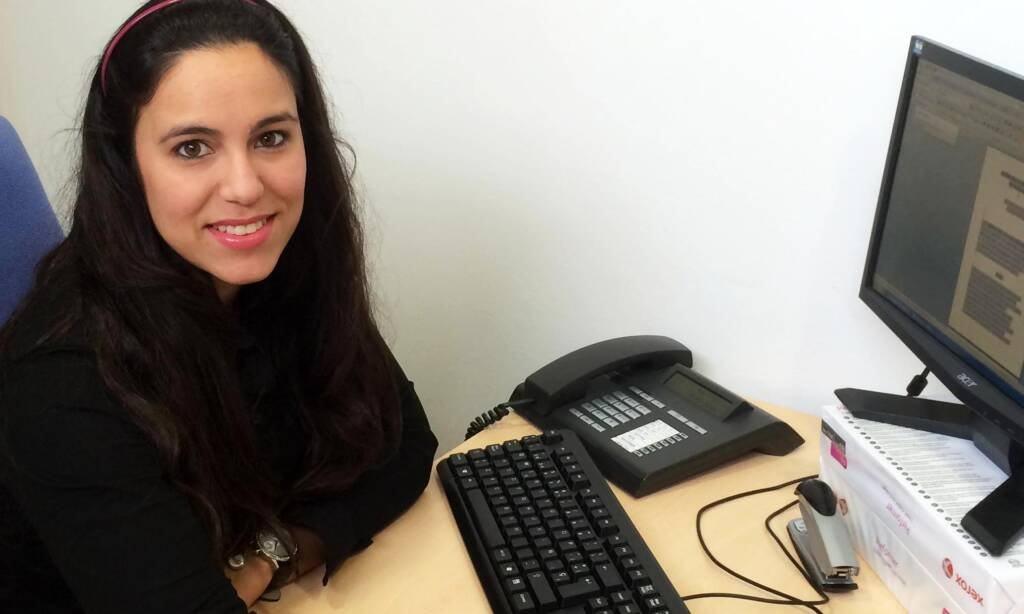 Beatriz Guimaraes, Voluntaria del Departamento Jurídico