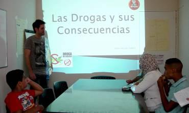 Charla sobre la prevención del consumo de drogas en Fuengirola