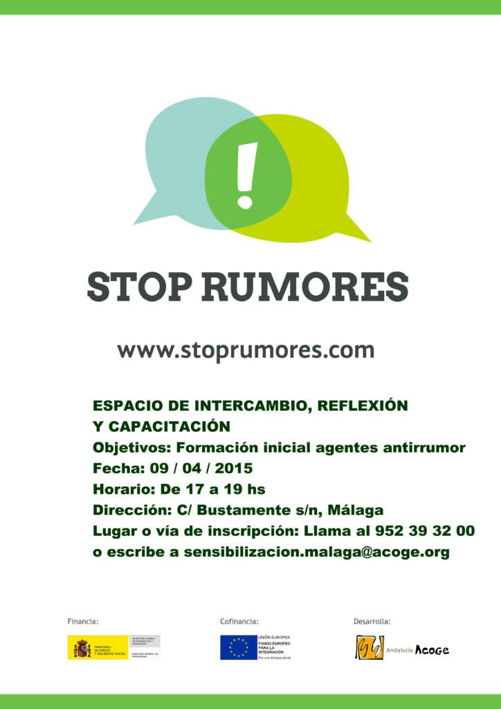 150409 Segundo Encuentro Stop Rumores