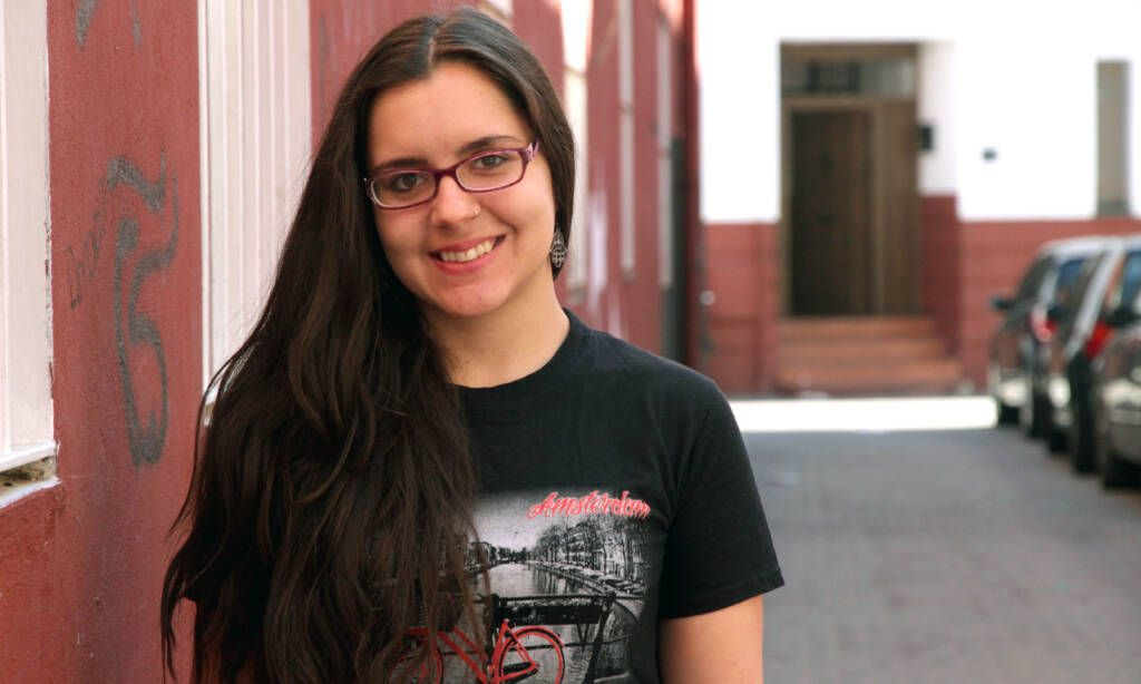 Laura Carretero, voluntaria del Área de Educación