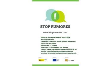 Nuevo encuentro de Agentes Antirumor en Málaga