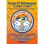 ¡Fiesta de 25 aniversario de Málaga Acoge en Fuengirola!