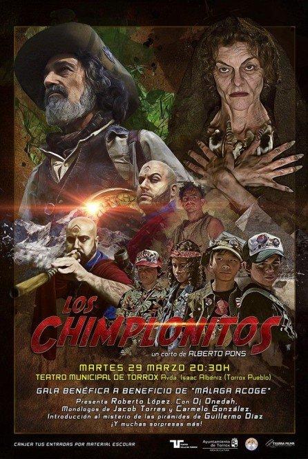 Los Chimplonitos. Cartel estreno 29032015