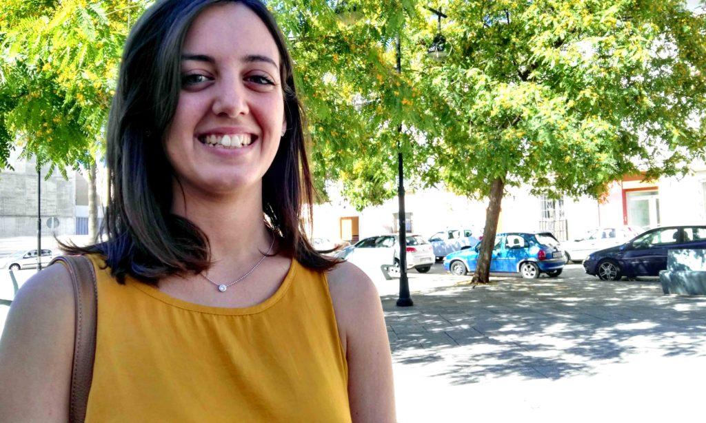 Raquel Calvente, alumna en prácticas del Área Social