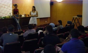 Málaga Acoge, un ejemplo para jóvenes daneses