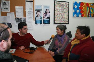 El voluntariado centra una entrevista de Onda Color en Málaga Acoge