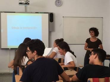 Los rumores sobre inmigración, a debate en aulas de cuatro IES de Málaga