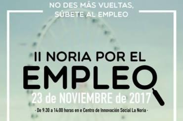 Málaga Acoge participará en II Noria por el Empleo 2017