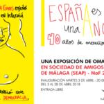 Cultura con humor en una muestra de Omar Janaan a beneficio de Málaga Acoge