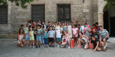 Aprendices de Warhol: niños y niñas de la Axarquía visitan el Museo Picasso