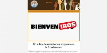 Llega nuestro boletín de agosto: No a las devoluciones express en la frontera sur