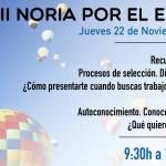 Málaga Acoge participará en la Noria por el Empleo 2018