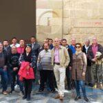Jornada de arte e historia con residentes del Centro de Inserción Social de Málaga