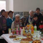 Gran fiesta con los alumnas y alumnos del curso de español en Málaga