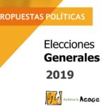 Andalucía Acoge presenta un decálogo de propuestas para los grupos políticos que concurren a las elecciones generales de 2019
