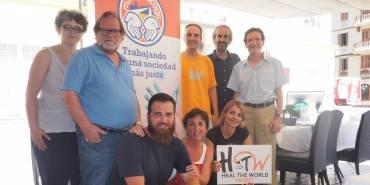Vino mío y «Heal the World», con los #jovenesenmovimiento de Málaga Acoge