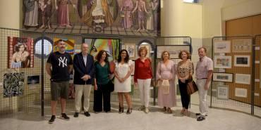 ¡Ven a la exposición de Artistas Acoge en el Colegio de Abogados!