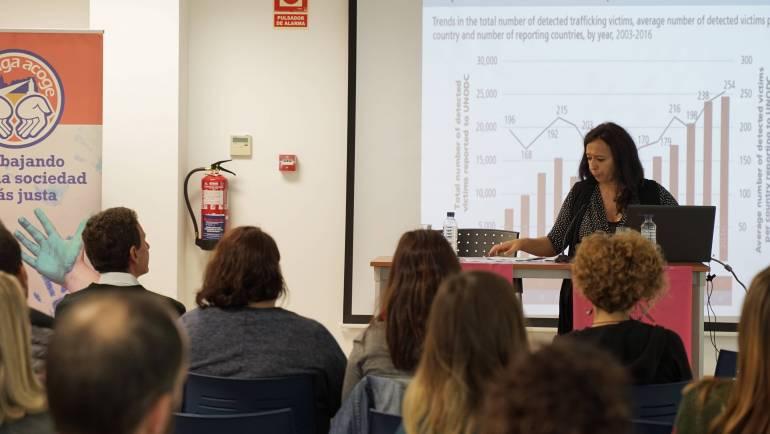 Visibilizamos la trata en nuestras III Jornadas en Antequera