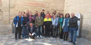 Una mañana de arte con los residentes del Centro de Inserción Social de Málaga