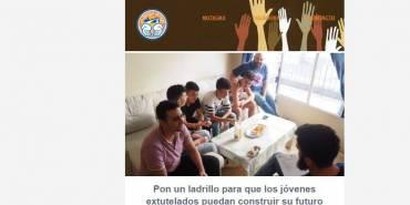 Boletín de noviembre: Pon un ladrillo para que los jóvenes extutelados construyan su futuro