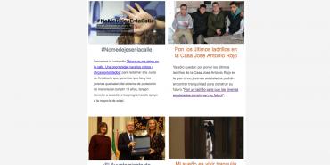 Las noticias de diciembre de Málaga Acoge