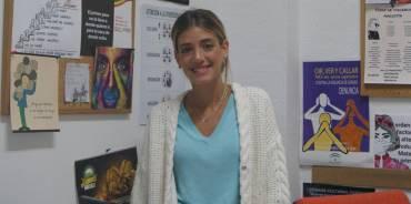 Fabiola, voluntaria en Fuengirola: «Me siento útil y realizada»