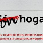 Entidades sociales lanzan la campaña #ConHogarMLG para apoyar a las personas que están en la calle