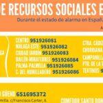 Guía de Recursos Sociales durante el estado de alarma por coronavirus