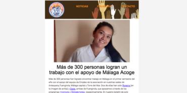 Boletín de julio: Más de 300 personas logran un trabajo a través de Málaga Acoge
