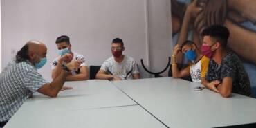Un taller de gestión de conflictos para jóvenes en movimiento