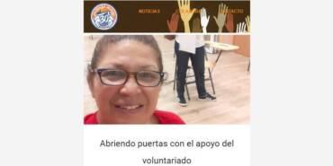 Abriendo puertas con el apoyo del voluntariado