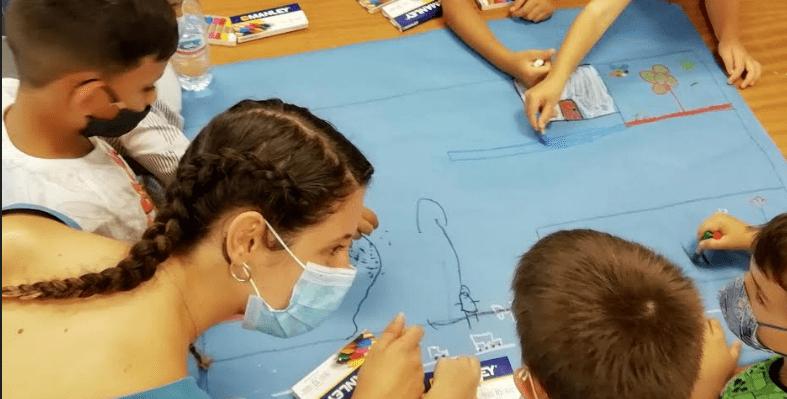 Refuerzo escolar en un curso marcado por la pandemia