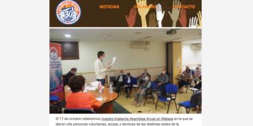 Boletín de octubre: XXX Asamblea Anual. 30 años apostando por una sociedad más justa