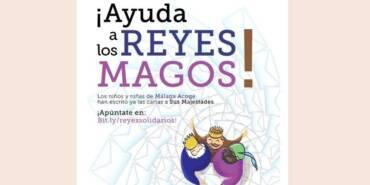 Ayuda a los Magos de Oriente a traer regalos a  niñas y niños de Málaga Acoge