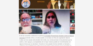 Nuestras noticias de noviembre: IV Jornadas de trata en Antequera y mucho más