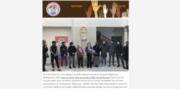 Qué hicimos en diciembre en Málaga Acoge: nuestro último boletín de 2020