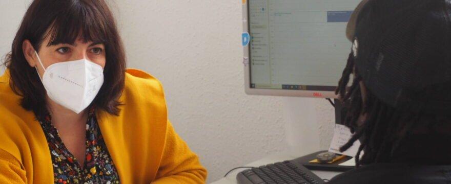 «Quiero lograr ser técnico informático»