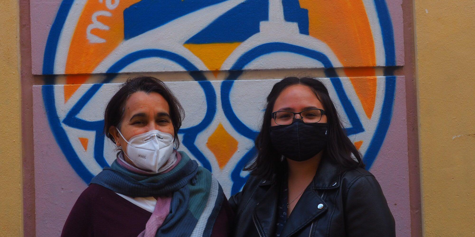 Rabía y Carolina