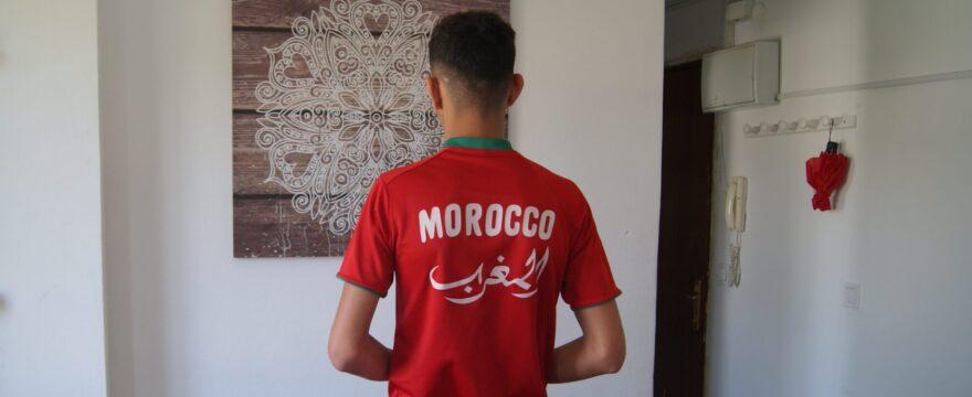 «Tengo dos sueños: o ser futbolista o ser cocinero»