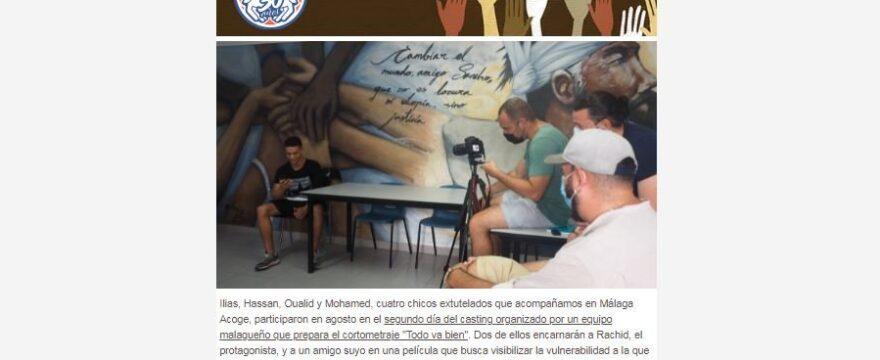 Noticias de agosto en Málaga Acoge
