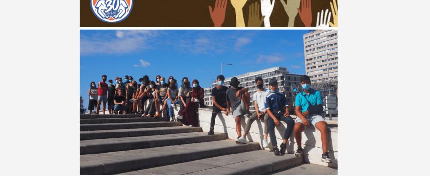 Noticias de septiembre: Jóvenes reclamando la Reforma del Reglamento de Extranjería
